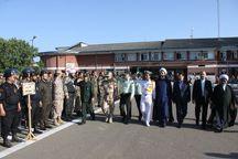 نمایش انسجام نیروهای مسلح آستارا در صبحگاه مشترک