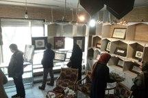نمایشگاه گروهی خوشنویسی و تذهیب در اراک گشایش یافت