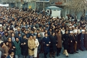 اجتماعات و شعارهای مردم مشهد در حمایت از دولت موقت و مهندس بازرگان