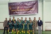 قهرمانی تیم شهرداری سقز در هشتمین دوره مسابقات فوتسال کارکنان شهرداری های کردستان