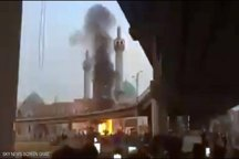 آتشزدن مرقدی در نجف