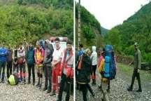 نجات جان کوهنوردان زنجانی در ارتفاعات فومن