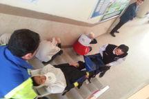 مانور سراسری زلزله در مدارس بوکان برگزار شد