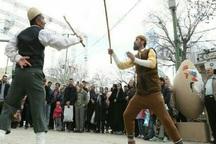 اجرای بازی های بومی محلی به مناسبت نوروز در قزوین