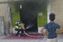 اتصال سیم های برق باعث آتش سوزی مسجد جامع ماهشهر شد