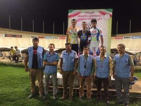 لیگ دسته اول دوچرخه سواری گلستان سوم شد