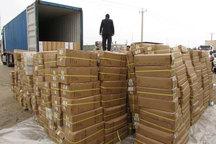 کالای قاچاق 20 میلیارد ریالی در مرند کشف شد