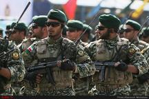 رژه نیروهای مسلح در زنجان  اوج اقتدار نظامی ایران