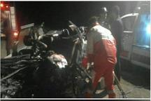 سانحه رانندگی در محور دلیجان به کاشان سه کشته و پنج مصدوم برجا گذاشت