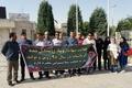 تجمع کارگران شرکت باختر بیوشیمی مقابل ساختمان استانداری کرمانشاه