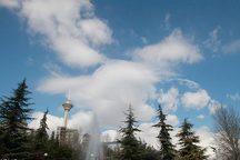 هوای تهران 6 درجه گرم می شود