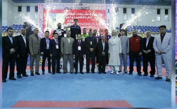 هوگوپوشان البرزی 6 مدال را در رقابت های آسیایی کسب کردند