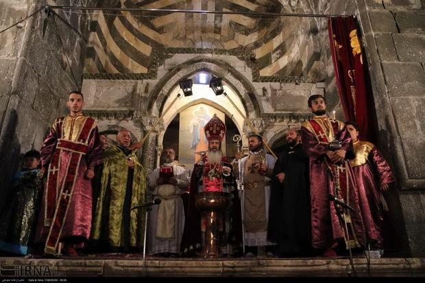 شصت و چهارمین آیین مذهبی ارامنه جهان در قره کلیسا آغاز شد