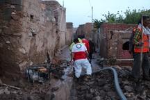 550 حادثه دیده سیلاب در خراسان جنوبی امدادرسانی شدند