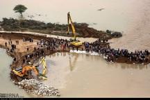 410 خانوار گرفتار در سیل در خوزستان امدادرسانی شدند