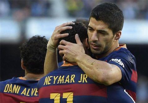 سوارز: مقصر دانستن نیمار برای ناکامیهای بارسلونا غیرمنصفانه است