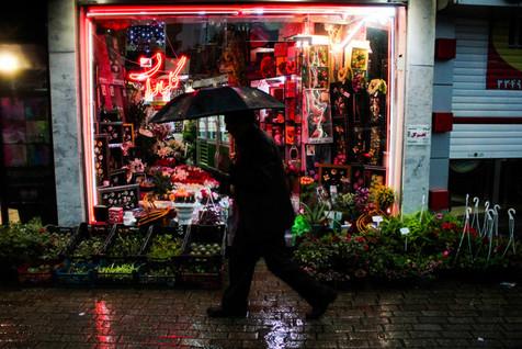 افزایش سرعت باد در تهران