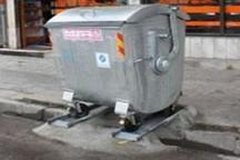نصب 500 سطل زباله میکانیزه در سطح شهر زاهدان
