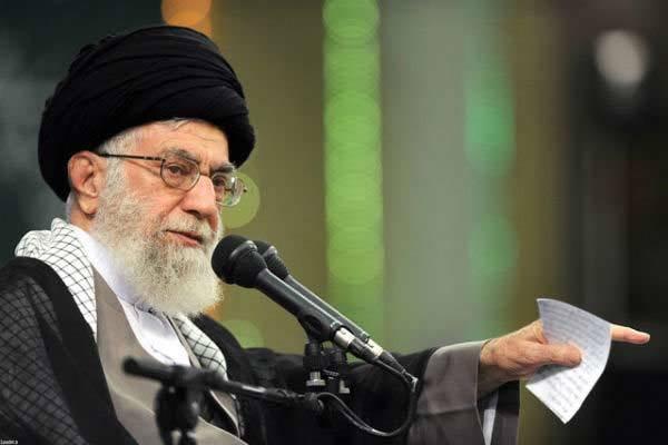 سیلی به شیطان در حسینه امام خمینی