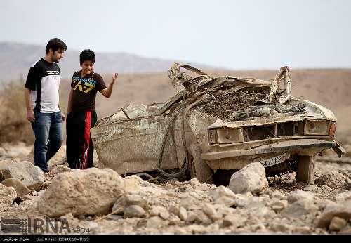 مناطق سیل زده استان تهران+ تصاویر