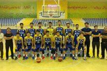 یکه تازی نفت امیدیه در رقابت های بسکتبال لیگ برتر امید کشور