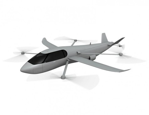 اسکای کروزر؛ هم هواپیما، هم بالگرد و هم خودرو!