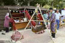 نمایشگاه توانمندی روستاها و عشایر فارس تا 8 شهریور برپا است