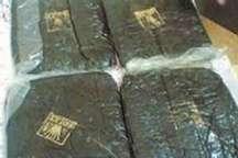 کشف 10 کیلوگرم تریاک در قیر و کارزین