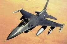 سقوط جنگنده اف – 16 نیروی هوایی آمریکا