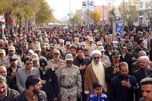 پیکر مرزبان شهید در قروه تشییع و به خاک سپرده شد