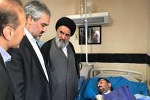 مسئولان کردستان از زخمی های حمله تروریستی مریوان عیادت کردند