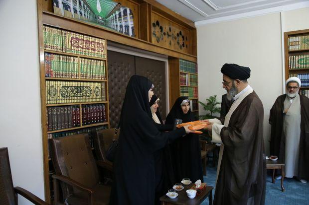 تقدیر امام جمعه تبریز از بانوان خبرنگار تبریزی