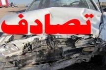 کشته و زخمی شدن 6 نفر در برخورد یک پژو و نیسان در مشهد