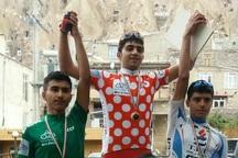 دوچرخه سوار ملی پوش آذربایجان غربی قهرمان تور کندوان شد
