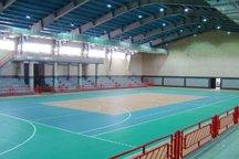 سالن ورزشی قلعه قباد نهاوند به بهره برداری رسید