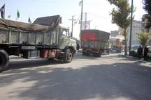 دومین محموله کمکهای مردمی سیستان وبلوچستان به لرستان ارسال شد
