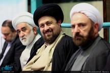 دیدار استاندار و جمعی از مدیران استان تهران با سید حسن خمینی