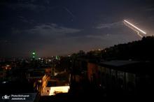 پاسخ سوریه به تجاوز هوایی رژیم صهیونیستی/ واکنش وزارت دفاع روسیه + تصاویر