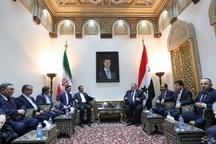 جهانگیری: توافقات ایران و سوریه در صورت حمایت مجالس دو کشور به نتایج بهتری خواهد رسید
