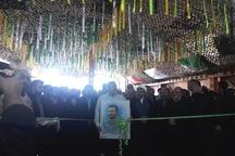 نهمین نمایشگاه ملی دفاع مقدس در کرمان گشایش یافت