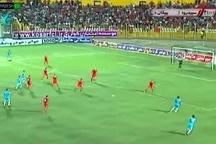 مصاف تیم فوتبال سپیدرود رشت برابر پیکان  علی کریمی در اندیشه نخستین پیروزی
