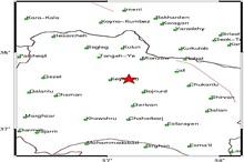 زلزله 4.7 ریشتری خراسان شمالی را لرزاند
