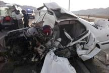 حادثه رانندگی در جاده اراک - ازنا 2 کشته داشت