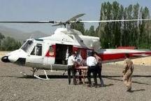 امدادرسانی به 6 کوهنورد حادثه دیده در واژگونی لندرور  انتقال 3 تا از مصدومین با بالگرد به بیمارستان