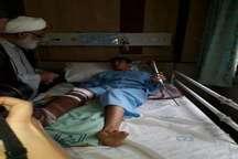 بخش های از بیمارستان امام رضا(ع) بجنورد به علت خسارت زلزله تخلیه شد
