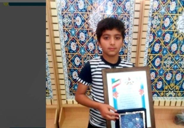 ورزشکار جهرمی در مسابقات استانی قرآن، اول شد