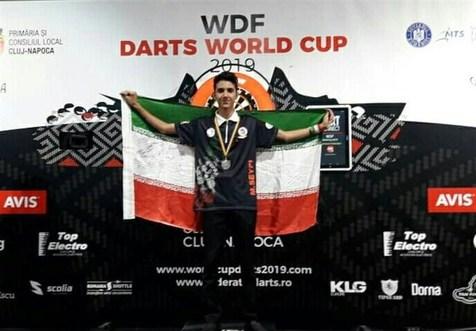 نایب قهرمانی سیفی در رقابت های دارت قهرمانی جوانان جهان
