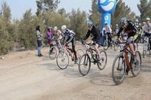بیجار قهرمان مسابقات دوچرخه سواری کردستان شد