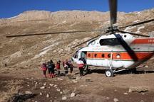 کوهنورد حادثه دیده در اشترانکوه لرستان نجات یافت
