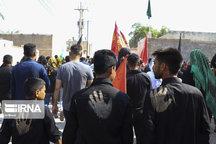 ۷۲هزار زائر اربعین حسینی از چذابه به سوی کربلا شتافتند